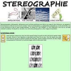 Stéréographie - théorie et pratique des différents type de stéréographie