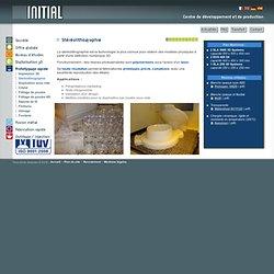 Prototypage rapide : stéréolithographie - Digitalisation, étude, prototypage rapide, frittage, stéréolithographie - Spécialiste du développement de produits industriels et grand public