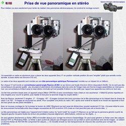 www.stereoscopie.fr - Prise de vue panoramique en stéréo
