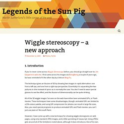 Wiggle stereoscopy - a new approach [Legends of the Sun Pig - Martin Sutherland's Blog]
