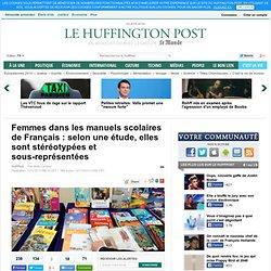 Femmes dans les manuels scolaires de Français : selon une étude, elles sont stéréotypées et sous-représentées