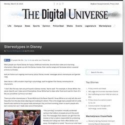 Stereotypes in Disney