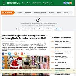 Jouets stéréotypés : des messages contre le sexisme glissés dans des cadeaux de Noël