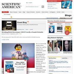 Breaking Brick Stereotypes: LEGO Unveils a Female Scientist