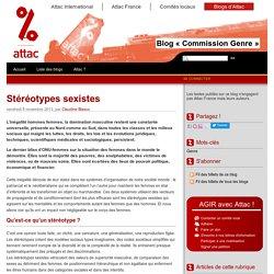 Stéréotypes sexistes - Les blogs d'Attac