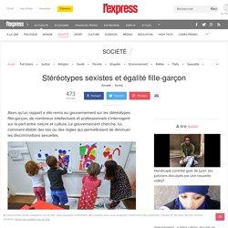 Stéréotypes sexistes et égalité fille-garçon