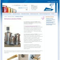 Stérilisateur autoclave Techna pour la conserverie alimentaire