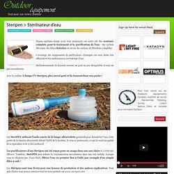 Steripen > Stérilisateur d'eau | Outdoor Equipement