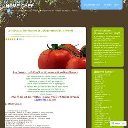 Les bocaux: stérilisation et conservation des aliments