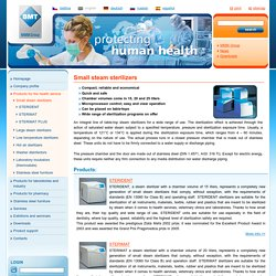 Small steam sterilizers - BMT Medical Technology s.r.o.