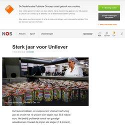 Sterk jaar voor Unilever