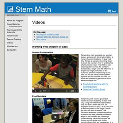 Stern Math: Videos