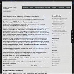 Der Sternenpark im Biosphärenreservat Rhön