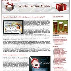 Sterntaufen & Sternschnuppe als Geschenke