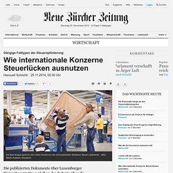 Gängige Falltypen der Steueroptimierung: Wie internationale Konzerne Steuerlücken ausnutzen - Wirtschaft Nachrichten