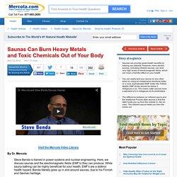 Steve Benda on Sauna Benefits and EMF