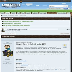 0.0]Steve's Carts v0.10