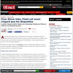 Pour Steve Jobs, Flash est aussi ringard que les disquettes