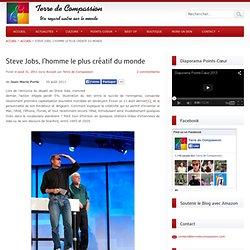Steve Jobs, l'homme le plus créatif du monde