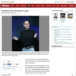 How Steve Jobs 'out-Japanned' Japan
