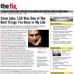 Steve Jobs: LSD Was One of The Best Things I've Done in My Life