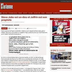 Steve Jobs est un dieu et Joffrin est son prophète