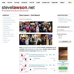 — Steve Lawson: Bass 2.0 — the soundtrack to the day you wish you'd had