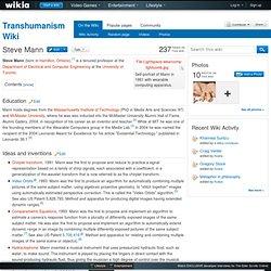 Steve Mann - Transhumanism Wiki