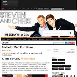 Steven and Chris | Bachelor Pad Furniture