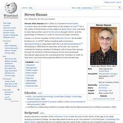 Steven Hassan