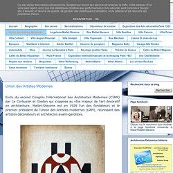 Robert Mallet-Stevens (1886-1945): Union des Artistes Modernes