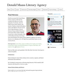 Paul Stevens » Donald Maass Literary Agency