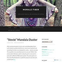 """Stevie"" Mandala Duster"