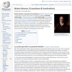 Gran Bretagna - Robert Stewart, II marchese di Londonderry