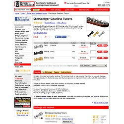 Details about Steinberger Gearless Tuners