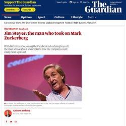 Jim Steyer: the man who took on Mark Zuckerberg