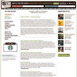 STG Presents Seattle > About STG > Job Openings