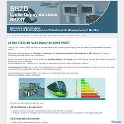 Sti2d Lycée Dupuy de Lôme Brest