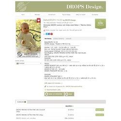 """Stickade DROPS sockor och tröja med flätor i """"Merino Extra Fine""""."""