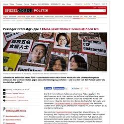 China lässt Sticker-Feministinnen um Wei Tingting frei