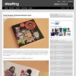 Studio Rarekwai 'Stickerbomb Monsters' Book