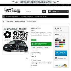 Stickers autocollant Hibiscus pour voiture