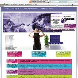 →Stickers - Sticker mural et Stickers muraux déco - 1000 stickers décoratifs muraux, stickers déco et décoration