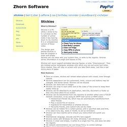 Yellow Stickies For Desktop