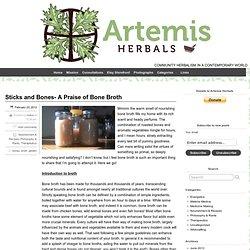 Sticks and Bones- A Praise of Bone Broth