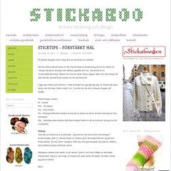 Sticktips – förstärkt häl