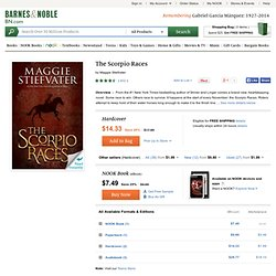 The Scorpio Races by Maggie Stiefvater, Scholastic, Inc.