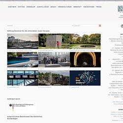 Stiftung Denkmal für die ermordeten Juden Europas: Startseite