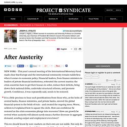 """After Austerity"""