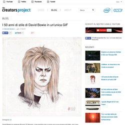 I 50 anni di stile di David Bowie in un'unica GIF